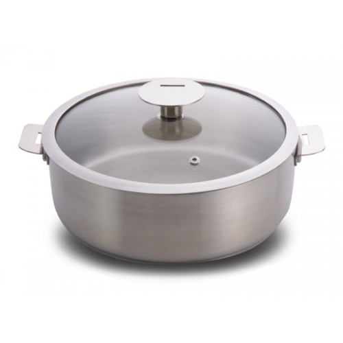 Covered Sautepot 24cm
